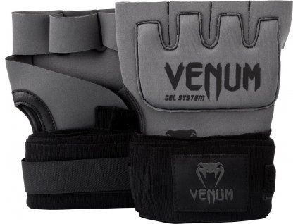 Gel Glove Wraps Venum Kontact - GREY/BLACK