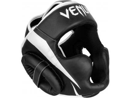 Headgear for box/MMA Venum Elite - BLACK/WHITE
