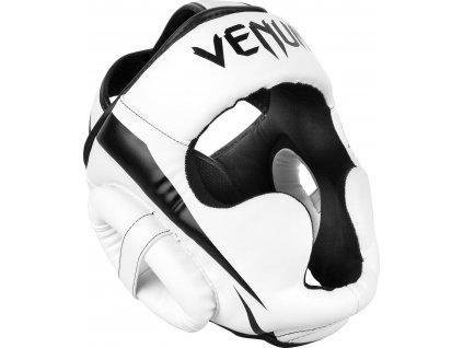 Headgear for box/MMA Venum Elite - WHITE/BLACK