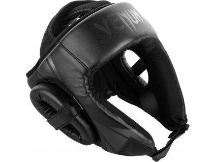 Headgear for box/MMA Venum Challenger Open Face - BLACK/BLACK