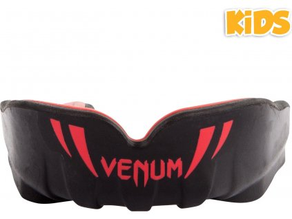 mouthguard venum challenger kids black white f1