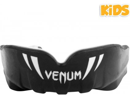 mouthguard venum challenger kids black white p1
