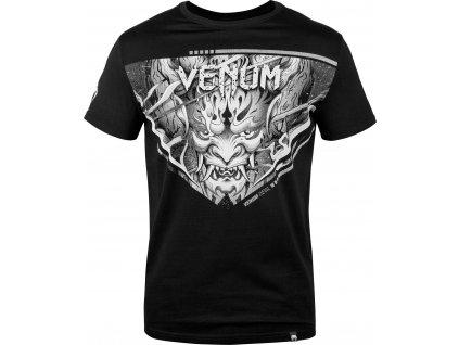 Men's T-shirt Venum Devil - White/Black