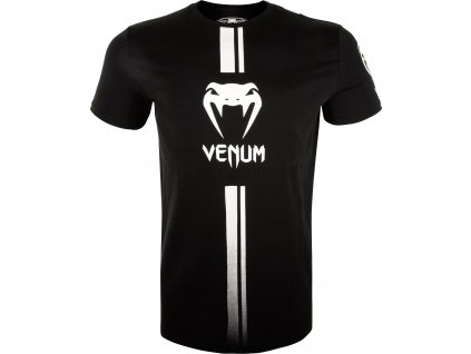 Men's T-shirt Venum Logos - BLACK/WHITE