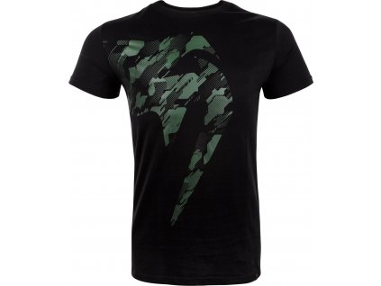 Men's T-shirt Venum TECMO Giant - KHAKI/BLACK