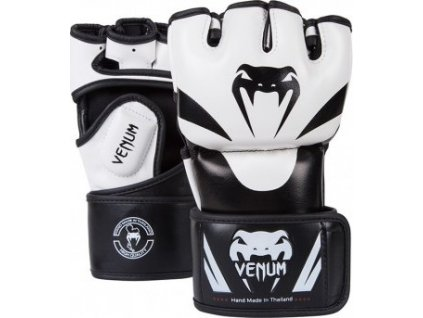 MMA Gloves Venum Attack - BLACK/ICE