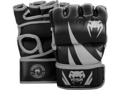 MMA Gloves Venum Challenger without thumb BLACK/GREY