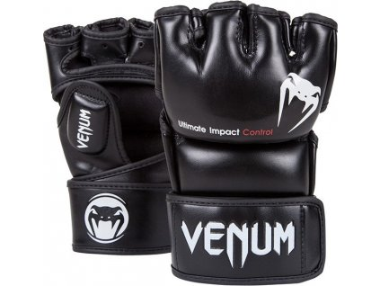 MMA Gloves Venum Impact - BLACK