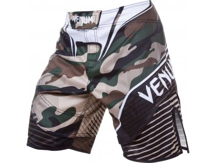 MMA Shorts Venum Camo Hero - GREEN/BROWN
