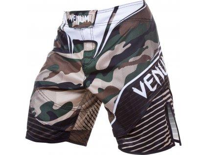 MMA Shorts Venum Camo Hero - GREEN/BROWN
