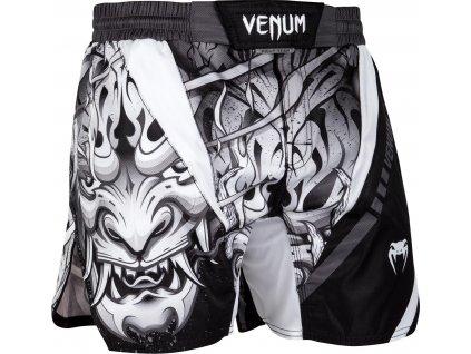 MMA Shorts Venum Devil - WHITE/BLACK
