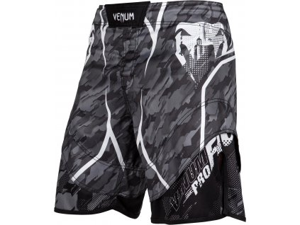 MMA Shorts Venum Tecmo - DARK GREY
