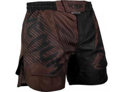 MMA shorts Venum NoGi 2.0 - BLACK/BROWN