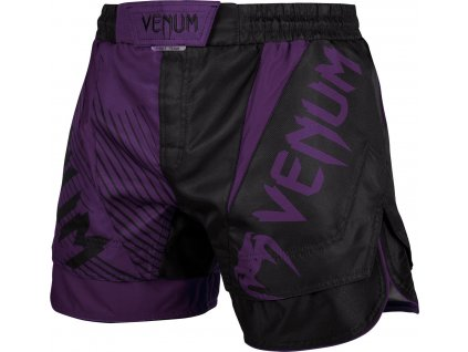 MMA shorts Venum NoGi 2.0 - BLACK/PURPLE