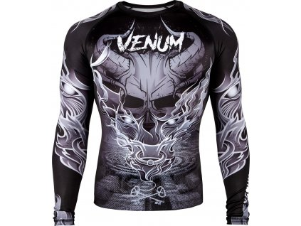 Rashguard Venum Minotaurus - Long Sleeves - BLACK/WHITE