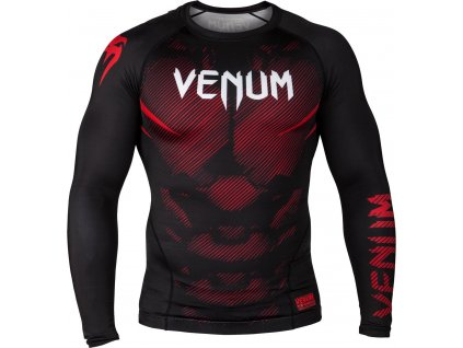 Rashguard Venum NoGi 2.0 Long sleeves - BLACK