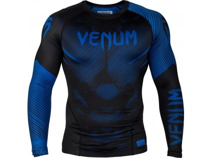 Rashguard Venum NoGi 2.0 Long sleeves - BLACK/BLUE