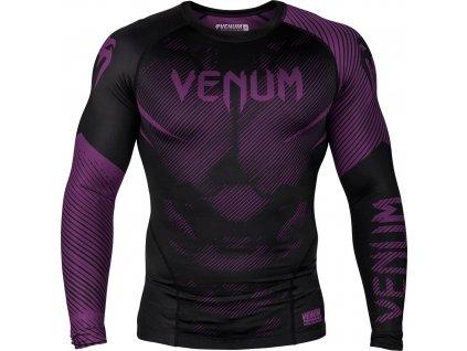 Rashguard Venum NoGi 2.0 Long sleeves - BLACK/PURPLE
