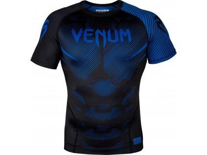 Rashguard Venum NoGi 2.0 Short sleeve - BLACK/BLUE