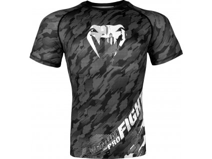 Rashguard Venum Tecmo Short Sleeves DARK GREY