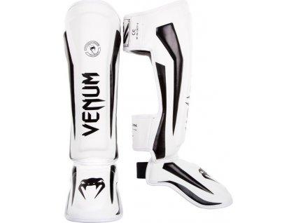 Shin Guards Venum Elite - WHITE/BLACK