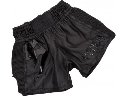 Shorts Venum GIANT Muay Thai - BLACK/BLACK