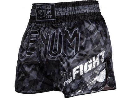 Shorts Venum TECMO Muay Thai - DARK GREY