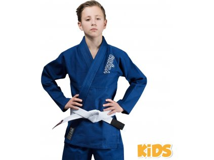Kids BJJ gi Venum Contender BLUE + white belt