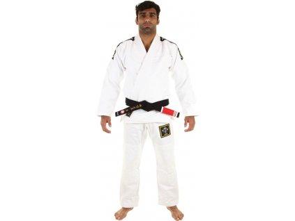 BJJ gi kimono Gi Kingz Basic 2.0 - WHITE + FREE WHITE BELT