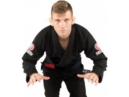 BJJ gi kimono Tatami Nova Minimo 2.0 BLACK + FREE WHITE BELT