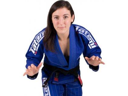 Ladies BJJ gi kimono Tatami Estilo 6.0 gi Ladies - BLUE & WHITE