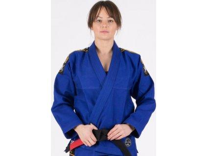 Ladies BJJ gi kimono Tatami Nova Absolute gi BLUE + WHITE belt FREE