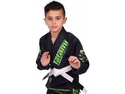 Kids BJJ gi kimono / gi NEW MEERKATSU KIDS ANIMAL - NAVY - Tatami Fightwear + FREE WHITE BELT