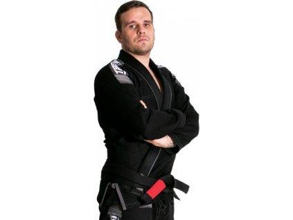 Nova Plus BLACK Tatami fightwear BJJ gi kimono + FREE WHITE BELT