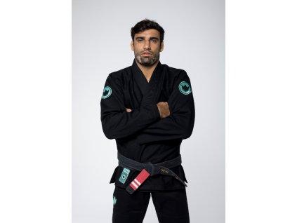 BJJ gi kimono Kingz Classic Jiu Jitsu 3.0 Black + WHITE BELT