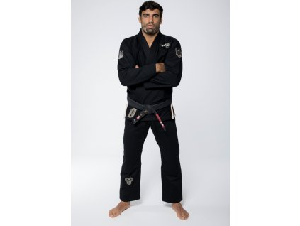 bjj gi kimono kingz nano2 black cerne jiu jitsu f1