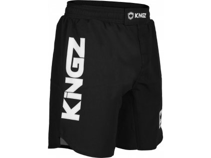 Shorts no-gi Kingz Competition - Black/White