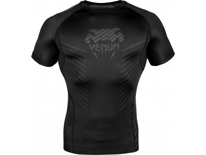 Rashguard Venum Plasma - Short Sleeves - Black/Black