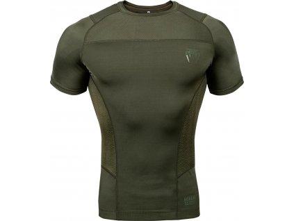 Rashguard Venum G-FIT - Short Sleeves - Khaki