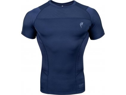 Rashguard Venum G-FIT - Short Sleeves - Navy