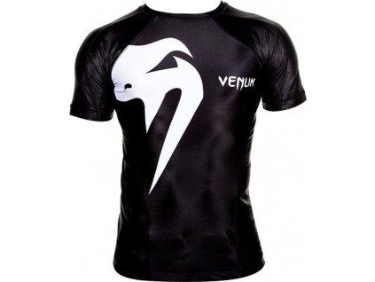 Rashguard Venum Giant - Short Sleeves - Black/White