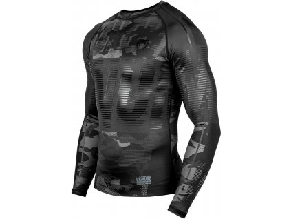 Rashguard Venum Tactical - Long Sleeves - Urban Camo Black/Black