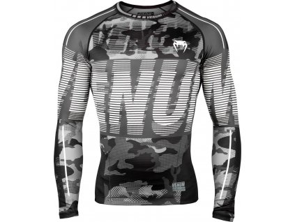 Rashguard Venum Tactical - Long Sleeves - Urban Camo/Black