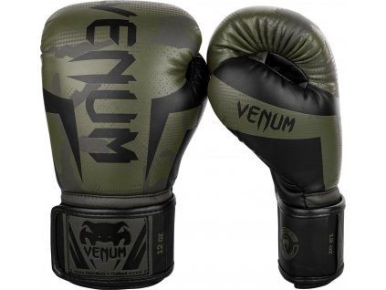 Boxing Gloves Venum Elite - Khaki Camo