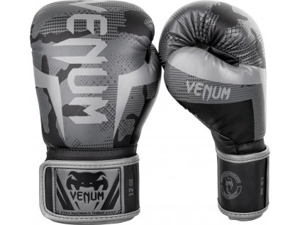 Boxing Gloves Venum Elite - Black/Dark Camo