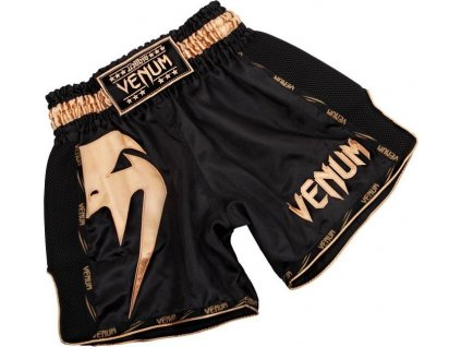 Muay Thai Shorts Venum Giant - Black/Gold