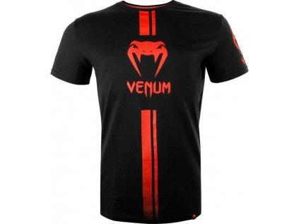 T-Shirt Venum Logos - Black/Red