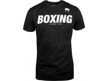 T-Shirt Venum Boxing VT - Black/White