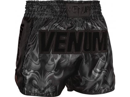 Muay Thai Shorts Venum Devil - Black/Black