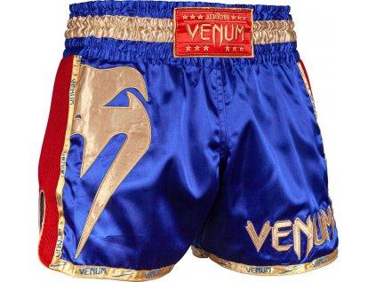 Muay Thai Shorts Venum Giant - Navy/Gold